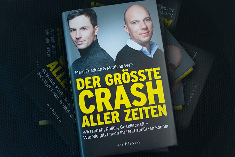 """Buch """"Der größte Crash aller Zeiten"""""""
