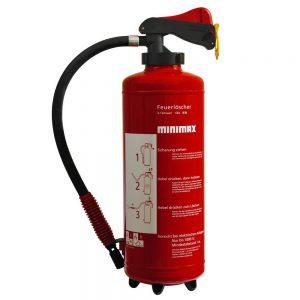 Minimax Feuerlöscher 6 Liter Schaum