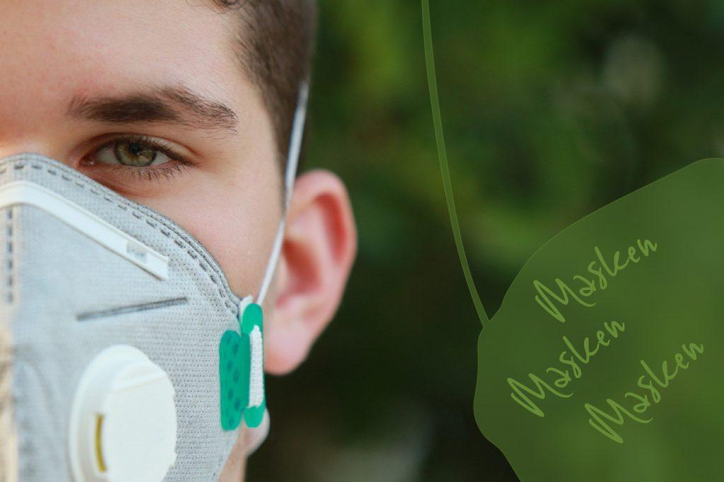 Maske zum Schutz vor Corona Virus