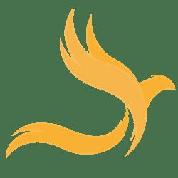 Preppo Phoenix Logo hellgelb
