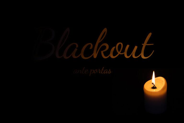 Dunkelheit bei Blackout