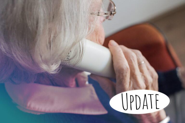 Update - Telefonbetrügern nicht aufsitzen!