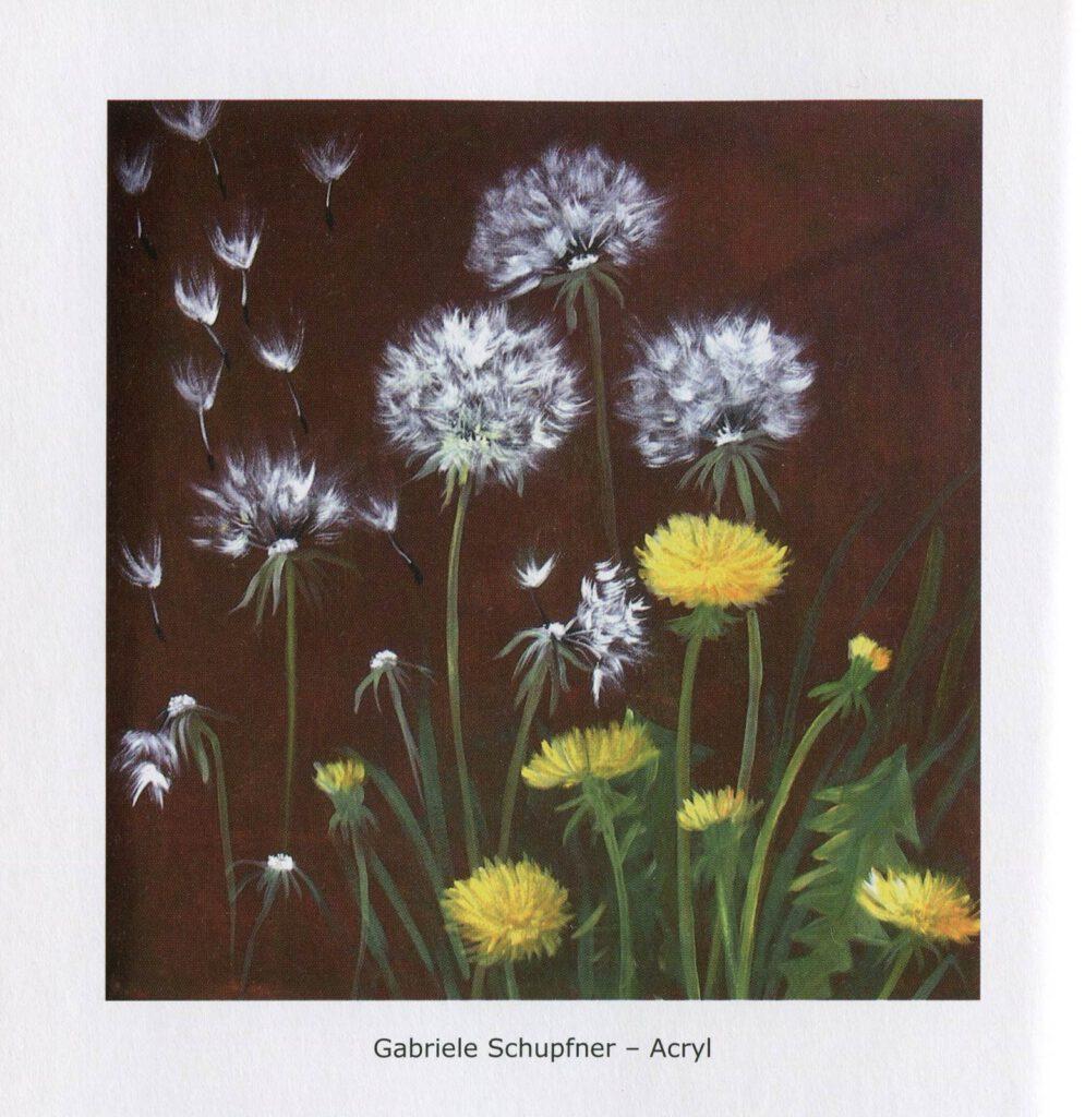 Gabriele Schupfner - Gemalte Gedichte